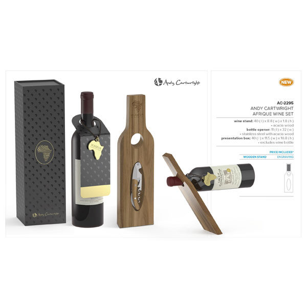 Andy Cartwright Afrique Wine Set